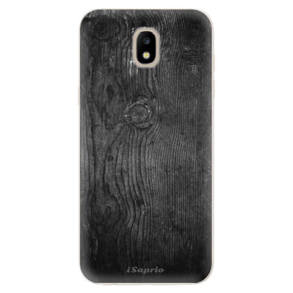 Odolné silikónové puzdro iSaprio - Black Wood 13 - Samsung Galaxy J5 2017