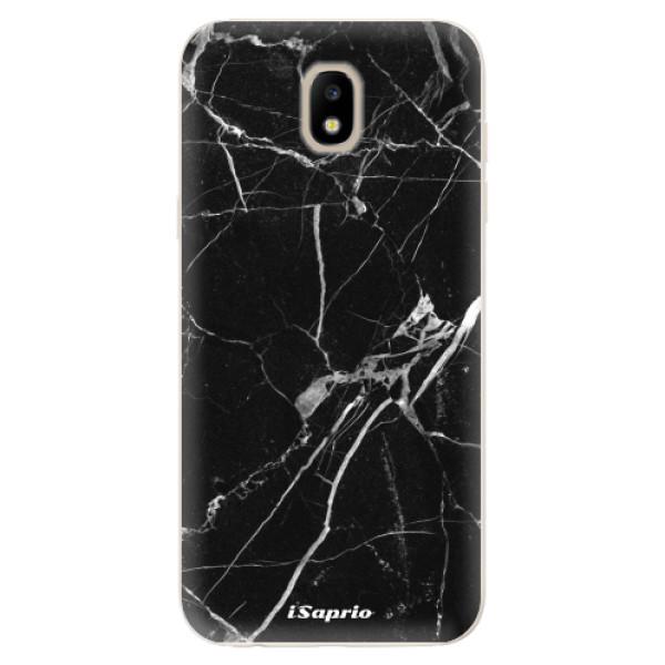 Odolné silikónové puzdro iSaprio - Black Marble 18 - Samsung Galaxy J5 2017