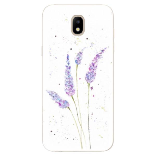 Odolné silikónové puzdro iSaprio - Lavender - Samsung Galaxy J5 2017