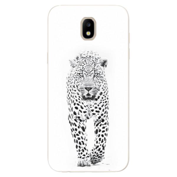 Odolné silikónové puzdro iSaprio - White Jaguar - Samsung Galaxy J5 2017