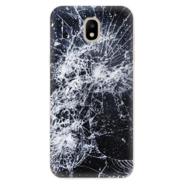 Odolné silikónové puzdro iSaprio - Cracked - Samsung Galaxy J5 2017