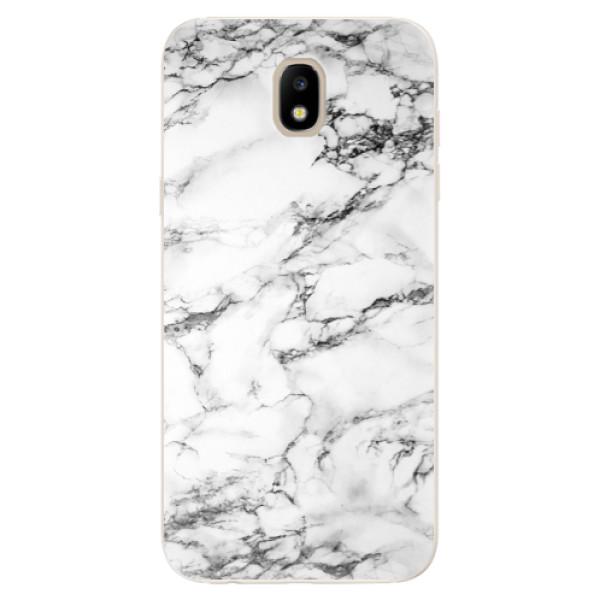 Odolné silikónové puzdro iSaprio - White Marble 01 - Samsung Galaxy J5 2017