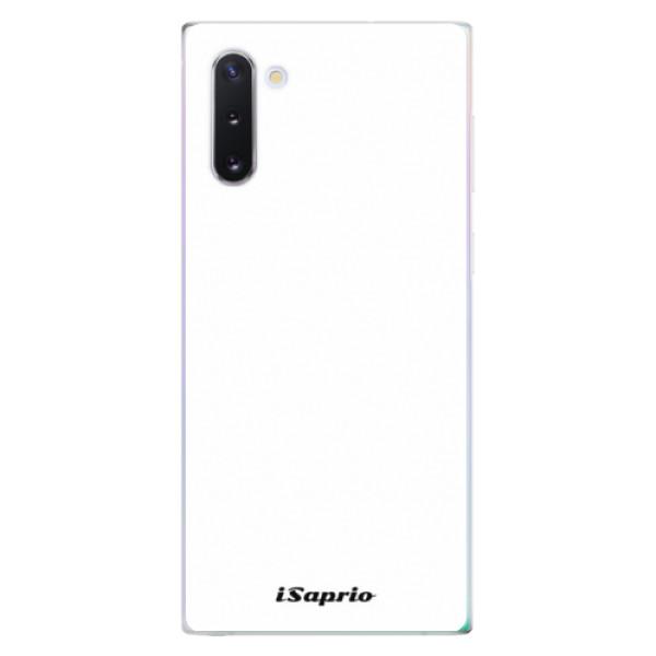 Odolné silikónové puzdro iSaprio - 4Pure - bílý - Samsung Galaxy Note 10
