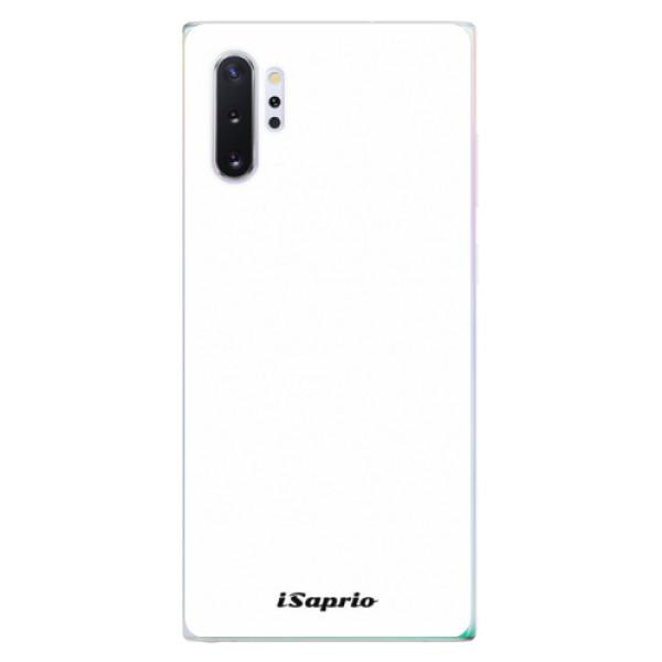 Odolné silikónové puzdro iSaprio - 4Pure - bílý - Samsung Galaxy Note 10+