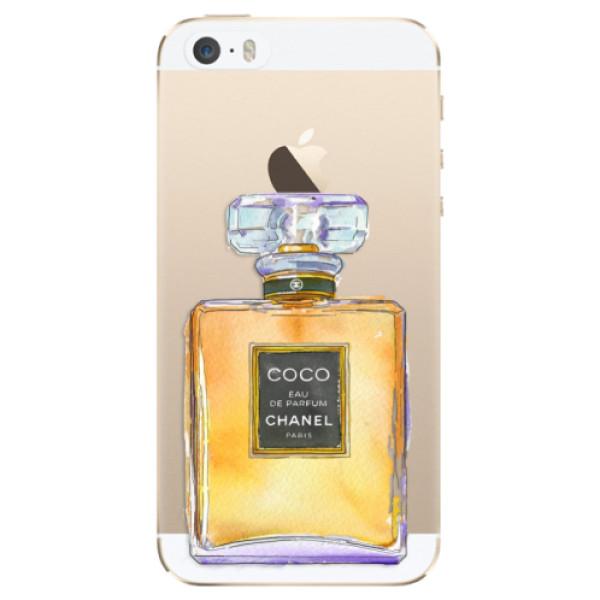 Odolné silikónové puzdro iSaprio - Chanel Gold - iPhone 5/5S/SE
