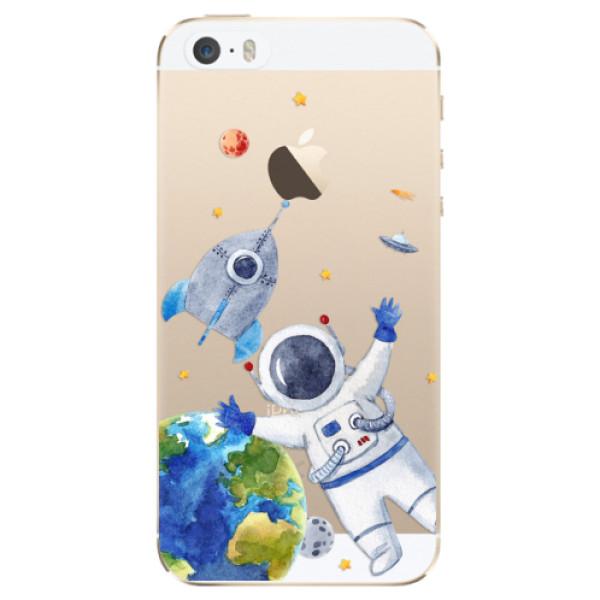 Odolné silikónové puzdro iSaprio - Space 05 - iPhone 5/5S/SE