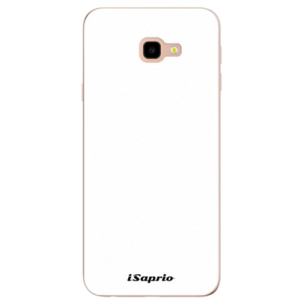 Odolné silikónové puzdro iSaprio - 4Pure - bílý - Samsung Galaxy J4+