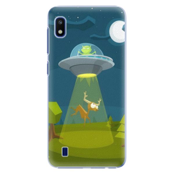 Plastové puzdro iSaprio - Alien 01 - Samsung Galaxy A10