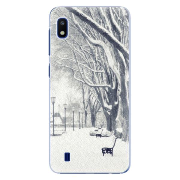 Plastové puzdro iSaprio - Snow Park - Samsung Galaxy A10