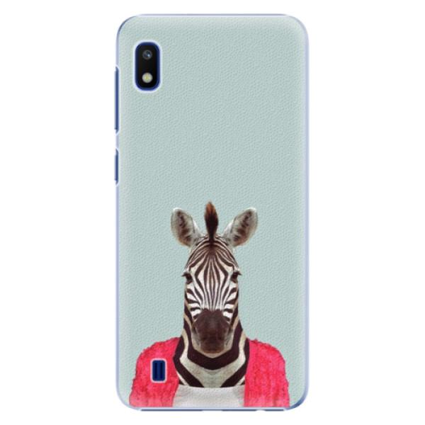 Plastové puzdro iSaprio - Zebra 01 - Samsung Galaxy A10