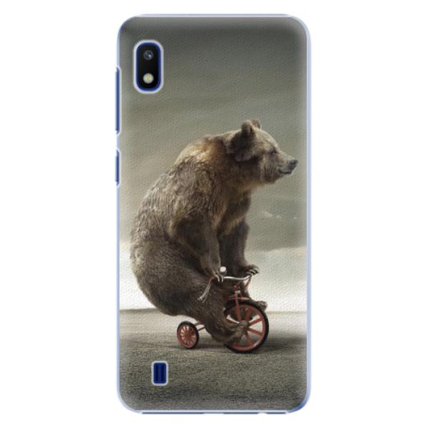 Plastové puzdro iSaprio - Bear 01 - Samsung Galaxy A10