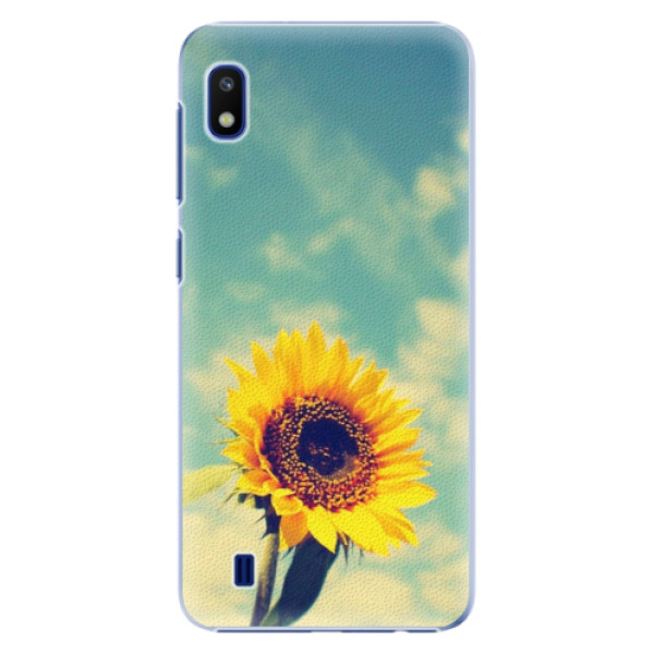 Plastové puzdro iSaprio - Sunflower 01 - Samsung Galaxy A10