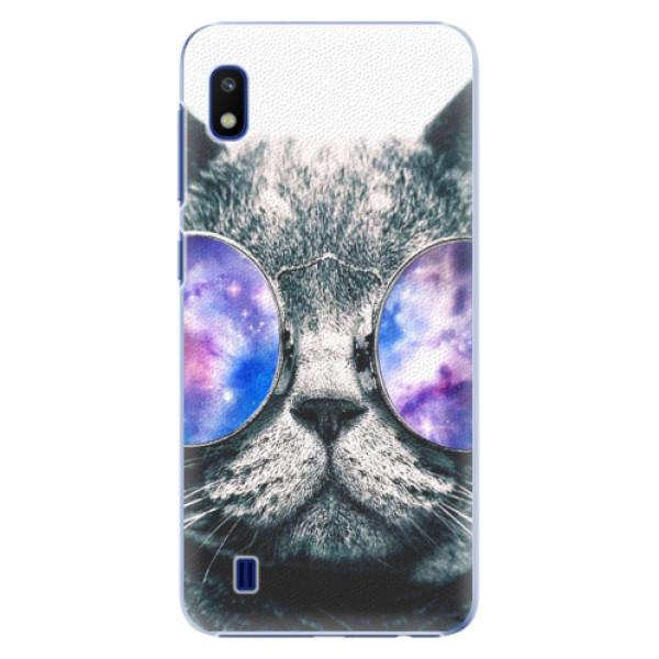 Plastové puzdro iSaprio - Galaxy Cat - Samsung Galaxy A10