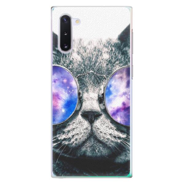 Plastové puzdro iSaprio - Galaxy Cat - Samsung Galaxy Note 10