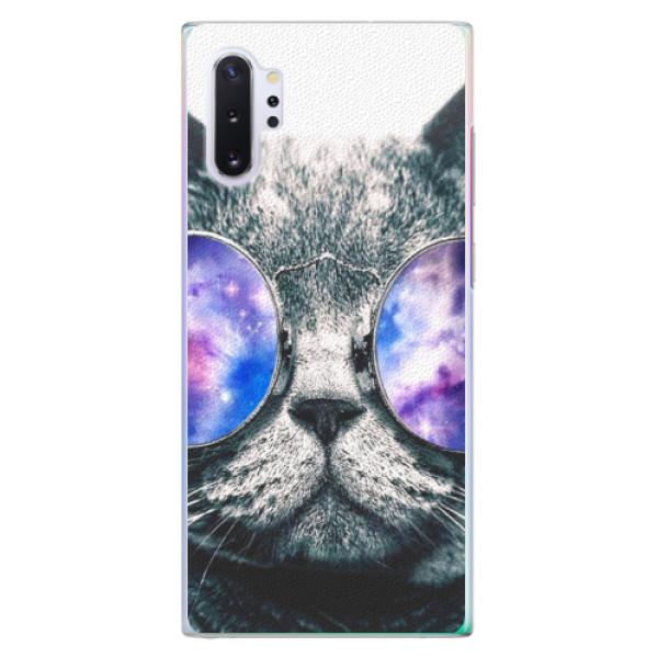 Plastové puzdro iSaprio - Galaxy Cat - Samsung Galaxy Note 10+