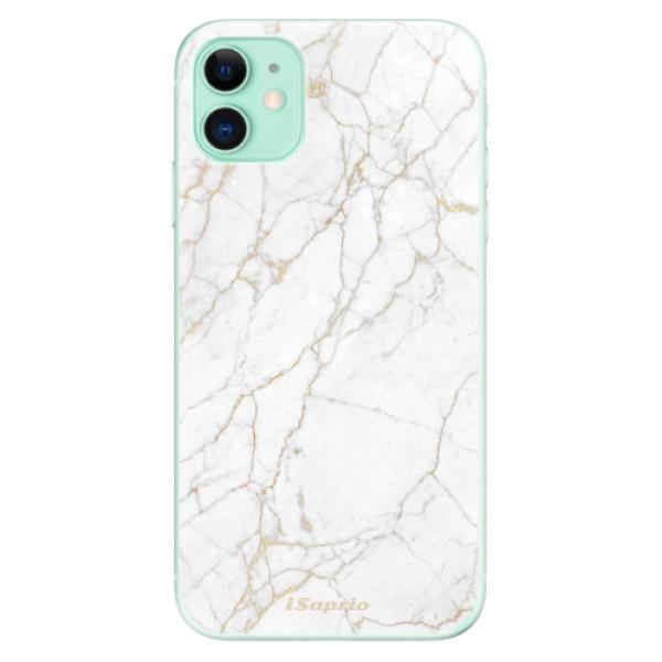 Odolné silikónové puzdro iSaprio - GoldMarble 13 - iPhone 11