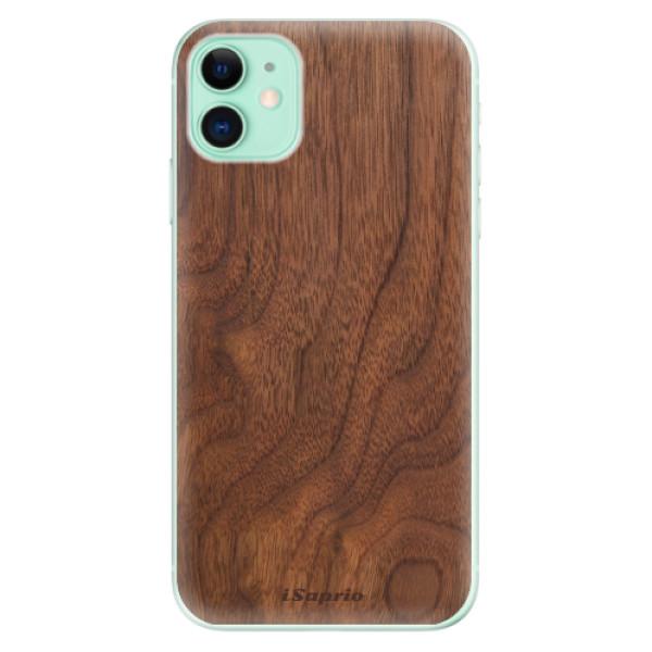 Odolné silikónové puzdro iSaprio - Wood 10 - iPhone 11
