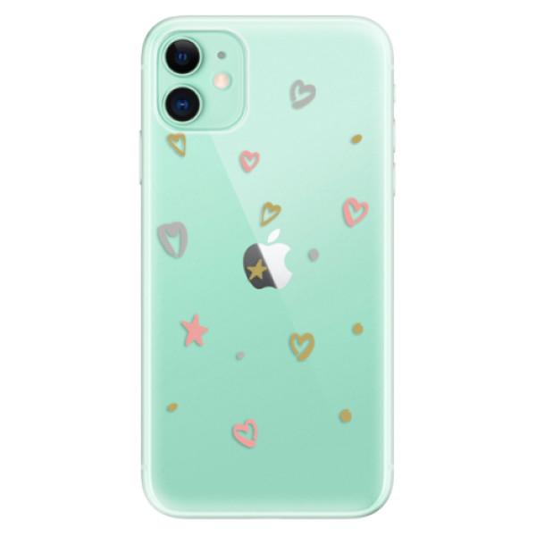 Odolné silikónové puzdro iSaprio - Lovely Pattern - iPhone 11