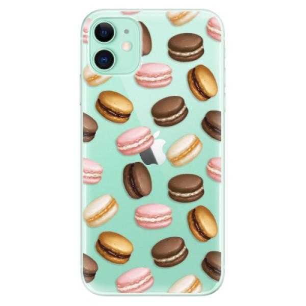Odolné silikónové puzdro iSaprio - Macaron Pattern - iPhone 11