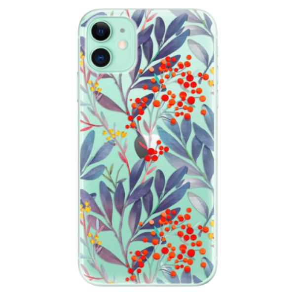 Odolné silikónové puzdro iSaprio - Rowanberry - iPhone 11