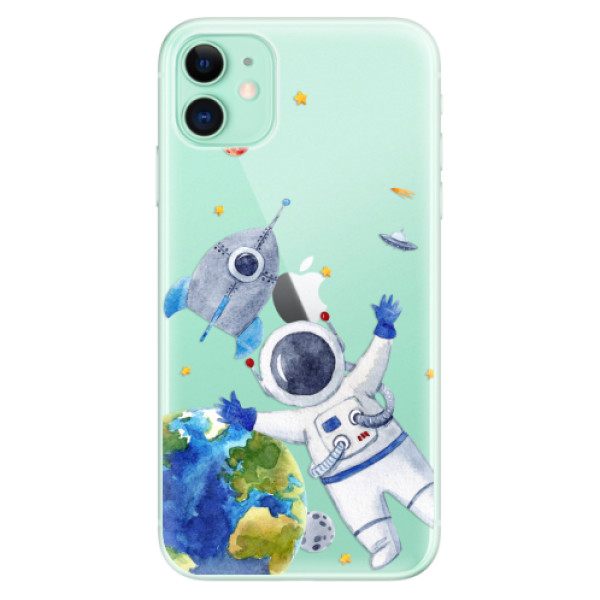 Odolné silikónové puzdro iSaprio - Space 05 - iPhone 11
