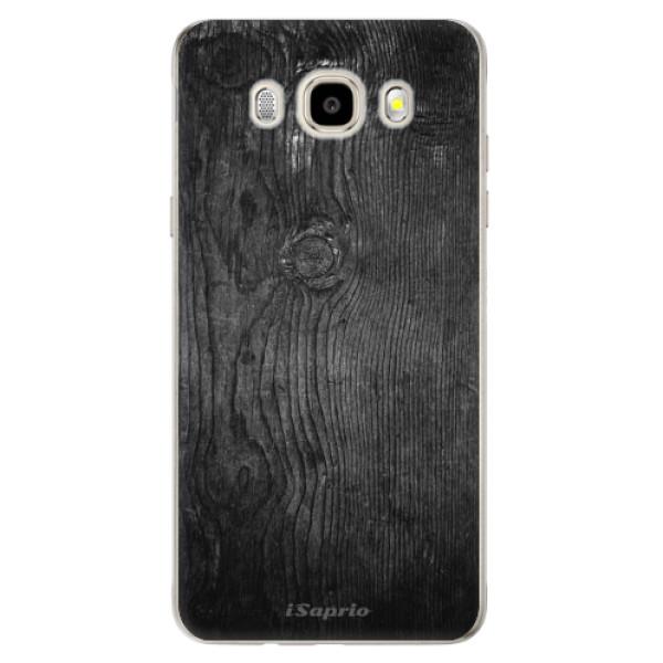 Odolné silikónové puzdro iSaprio - Black Wood 13 - Samsung Galaxy J5 2016