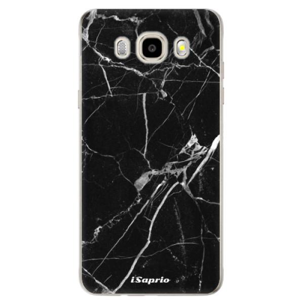 Odolné silikónové puzdro iSaprio - Black Marble 18 - Samsung Galaxy J5 2016