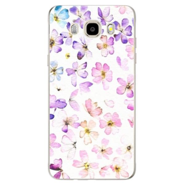 Odolné silikónové puzdro iSaprio - Wildflowers - Samsung Galaxy J5 2016