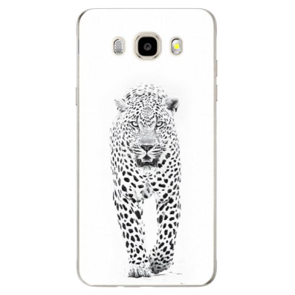 Odolné silikónové puzdro iSaprio - White Jaguar - Samsung Galaxy J5 2016