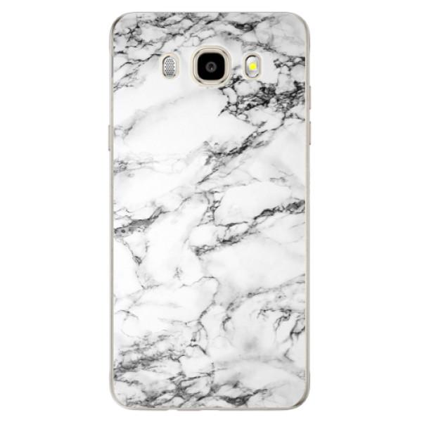 Odolné silikónové puzdro iSaprio - White Marble 01 - Samsung Galaxy J5 2016