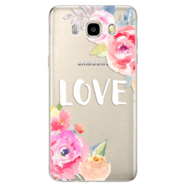 Odolné silikónové puzdro iSaprio - Love - Samsung Galaxy J5 2016