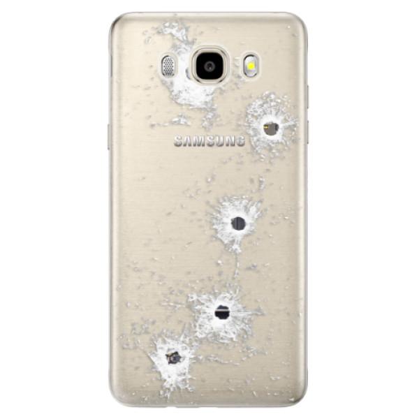 Odolné silikónové puzdro iSaprio - Gunshots - Samsung Galaxy J5 2016