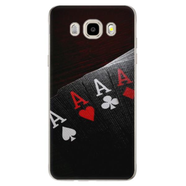 Odolné silikónové puzdro iSaprio - Poker - Samsung Galaxy J5 2016