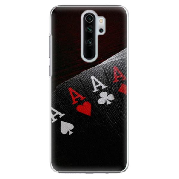 Plastové puzdro iSaprio - Poker - Xiaomi Redmi Note 8 Pro