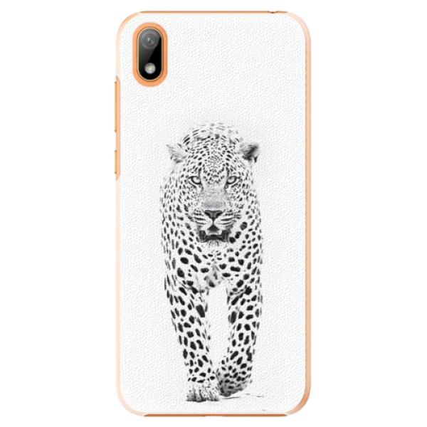 Plastové puzdro iSaprio - White Jaguar - Huawei Y5 2019