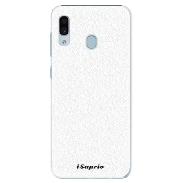 Plastové puzdro iSaprio - 4Pure - bílý - Samsung Galaxy A20