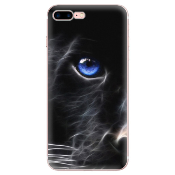Odolné silikónové puzdro iSaprio - Black Puma - iPhone 7 Plus