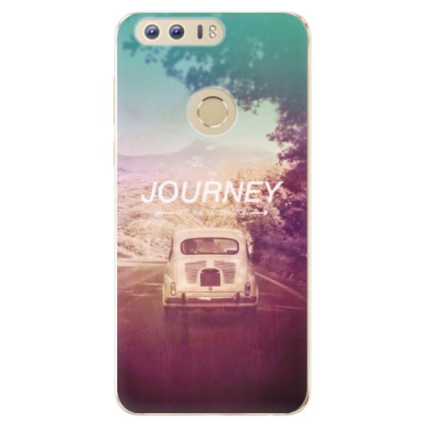 Odolné silikónové puzdro iSaprio - Journey - Huawei Honor 8