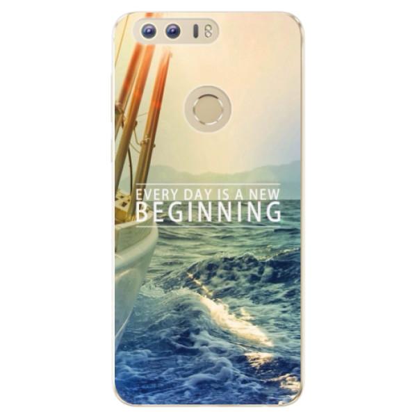 Odolné silikónové puzdro iSaprio - Beginning - Huawei Honor 8