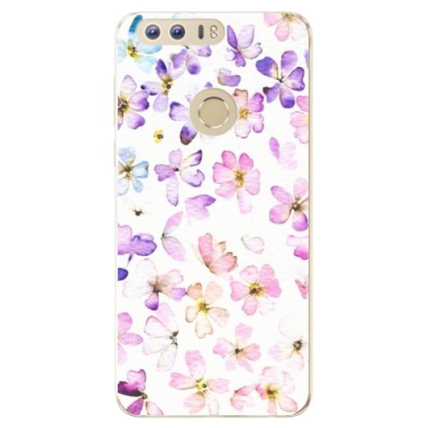 Odolné silikónové puzdro iSaprio - Wildflowers - Huawei Honor 8