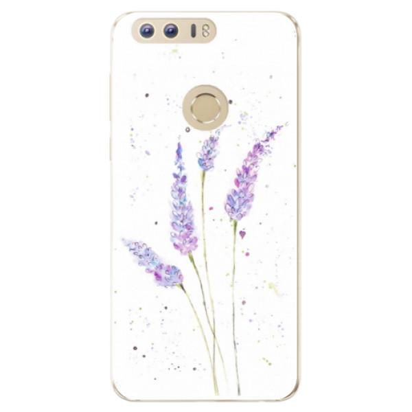 Odolné silikónové puzdro iSaprio - Lavender - Huawei Honor 8