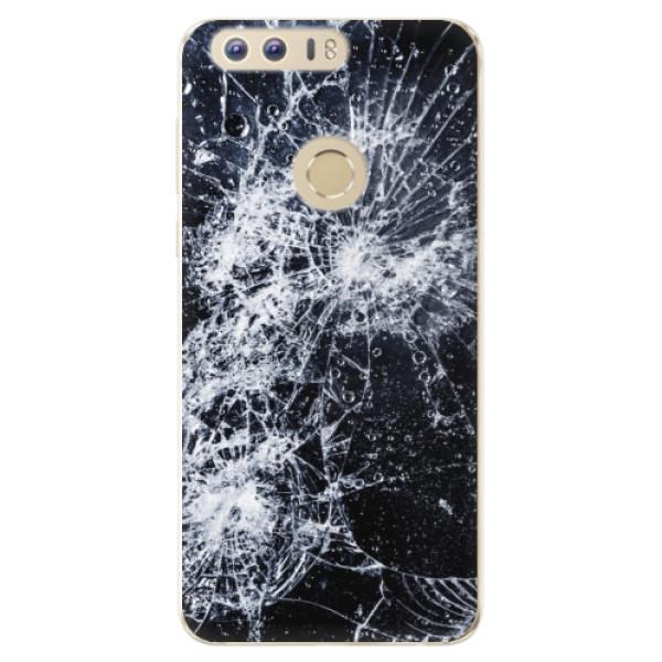 Odolné silikónové puzdro iSaprio - Cracked - Huawei Honor 8