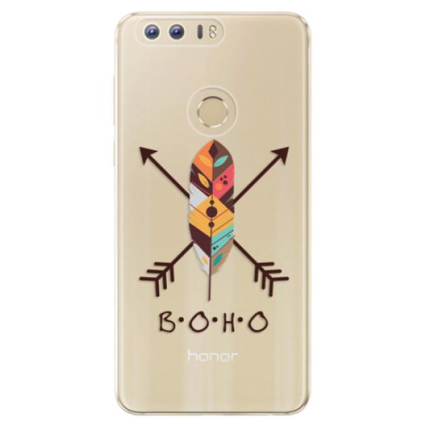 Odolné silikónové puzdro iSaprio - BOHO - Huawei Honor 8