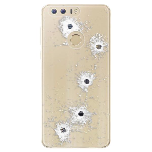 Odolné silikónové puzdro iSaprio - Gunshots - Huawei Honor 8