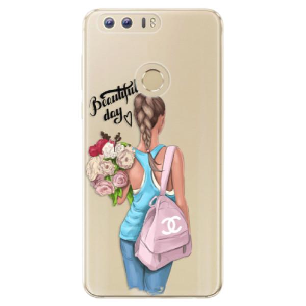 Odolné silikónové puzdro iSaprio - Beautiful Day - Huawei Honor 8