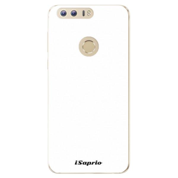 Odolné silikónové puzdro iSaprio - 4Pure - bílý - Huawei Honor 8