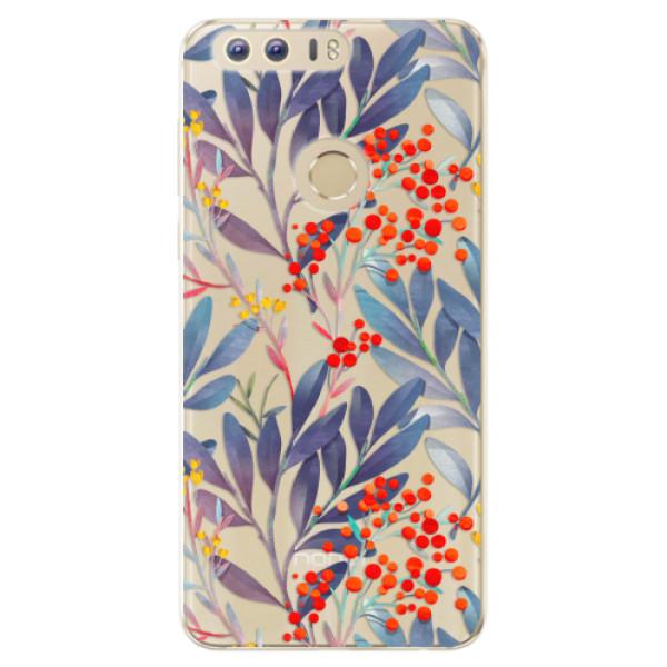 Odolné silikónové puzdro iSaprio - Rowanberry - Huawei Honor 8