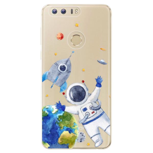Odolné silikónové puzdro iSaprio - Space 05 - Huawei Honor 8