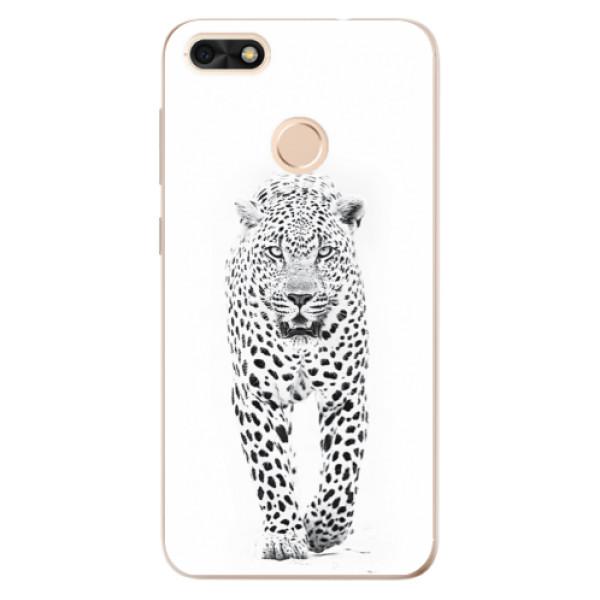 Odolné silikónové puzdro iSaprio - White Jaguar - Huawei P9 Lite Mini