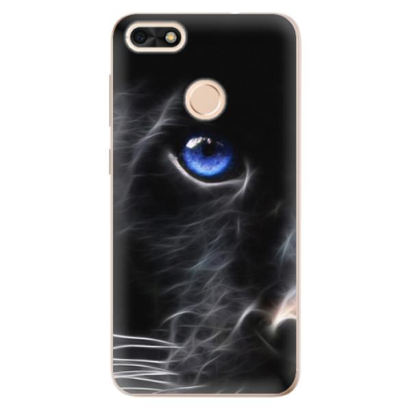 Odolné silikónové puzdro iSaprio - Black Puma - Huawei P9 Lite Mini